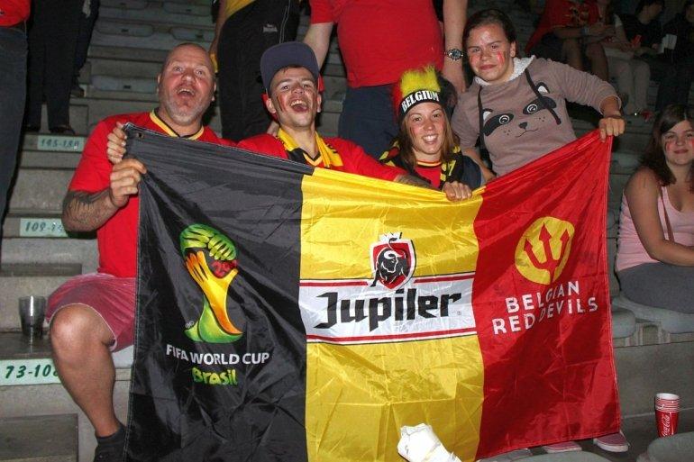 Supporter de Rode Duivels mee naar de kwartfinales!
