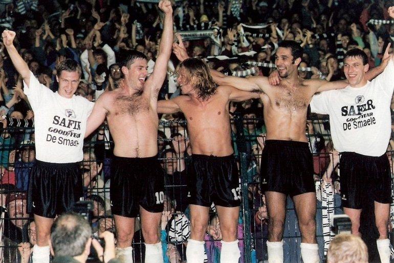 Huldiging Europese Eendracht-ploeg 1995