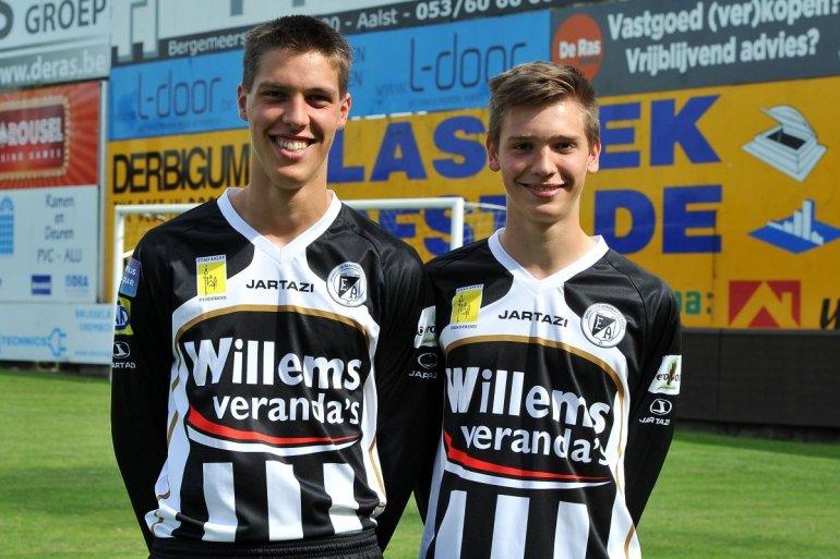 Falko en Jelle Geenens verlengen contract