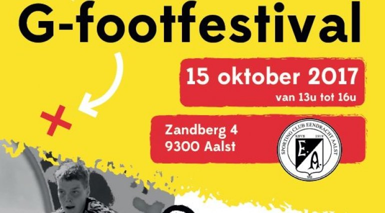 Zondag G-footfestival op Zandberg!
