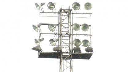 Verlichting stadion