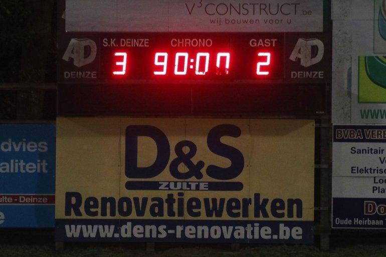 Geen puntenwinst in Oost-Vlaams duel