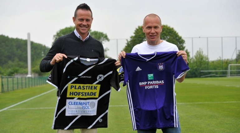 Legends Game tussen Eendracht en Anderlecht!