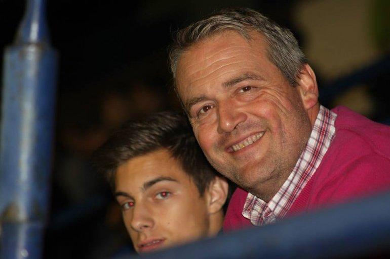 Afscheid van jeugdvoorzitter Luc Ledegen