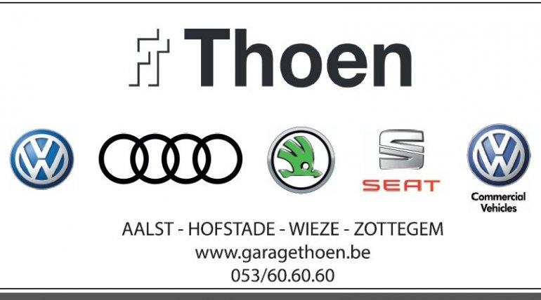Onze wedstrijdsponsor: Garage Thoen