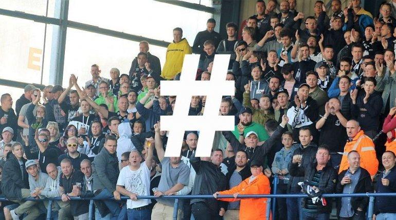 Eendracht Aalst zoekt een officiële hashtag