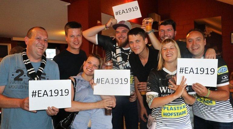 #EA1919 verkozen tot officiële hashtag